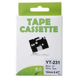 Cassette étiqueteuse