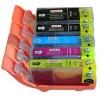 Pack 5 cartouches compatibles Canon IP4850/MG5150 (PGI525+CLI526) BK 19 ml+ BK/C/M/Y 9 ml 08525PACKN