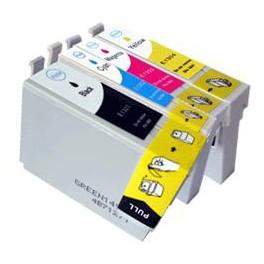 Pack 5 cart compatibles pour Epson Stylus Office B42WD/BX320FW/525WD/535WD (T1306XL) 2BK 33 ml/ 1C/1/M/1Y  14 ml