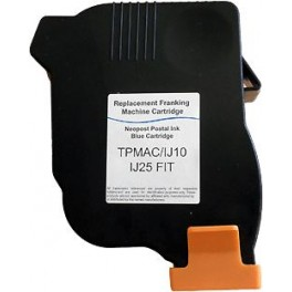 Cartouche compatible Neopost IJ10/IJ25 TPMAC (7200251L) Bleu MANP_7200251L