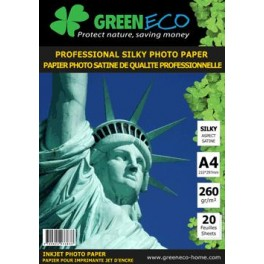 Papier Photo Satiné A4 Professional 260 GR - 20 feuilles PHOTOA4SAT