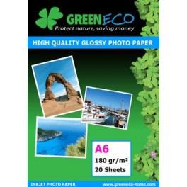 Papier Photo Glossy A6 180GR - Pochette de 20 feuilles PHOTOA6