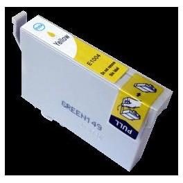 cartouche jet d'encre compatible Epson Stylus Office B40W/BX600FW/SX510W/SX600FW (T1004) Yellow 14 ml 001004Y