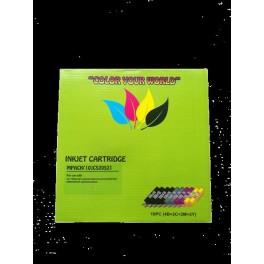 Pack cartouches jet d'encre compatibles pour Canon IP3600/4600/4700 (PGI-520+CLI-521) BK x4+C x2/M x2/Y x2 08520PACK10