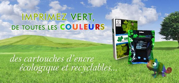 Imprimez vert, de toutes les couleurs !